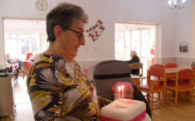 Double birthday celebrations at Woodstock Residential Care Home