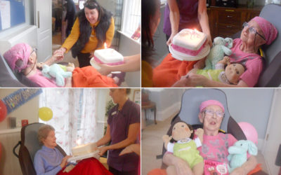 Celebrations for Irene and Vera at Woodstock Residential Care Home