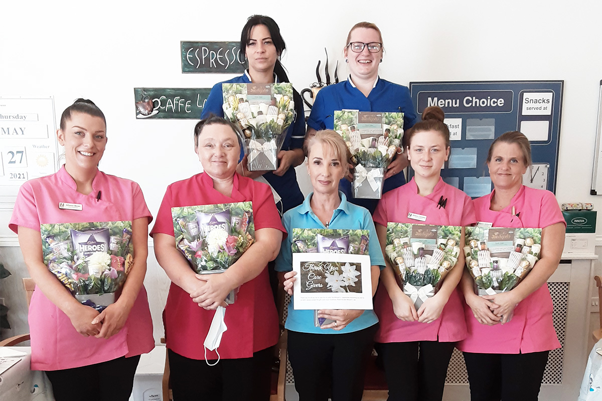 Family thanks Woodstock Residential Care Home staff for their wonderful care