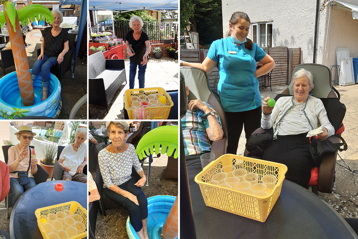 Garden games and cocktails at Woodstock Residential Care Home