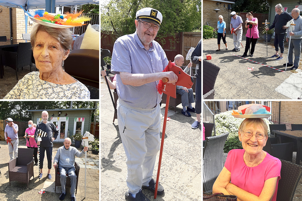 Woodstock Residential Care Home residents enjoy a day at the races