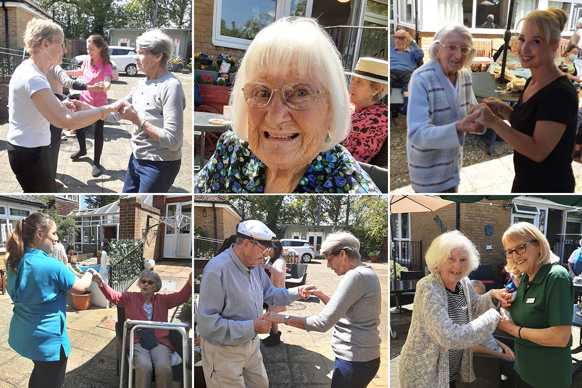 Sunshine and singing at Woodstock Residential Care Home