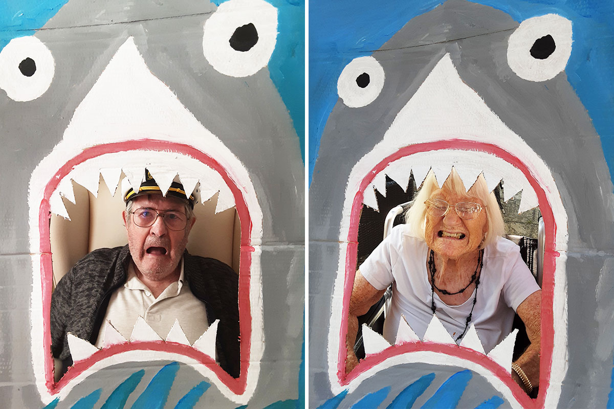 Sharks ahoy at Woodstock Residential Care Home