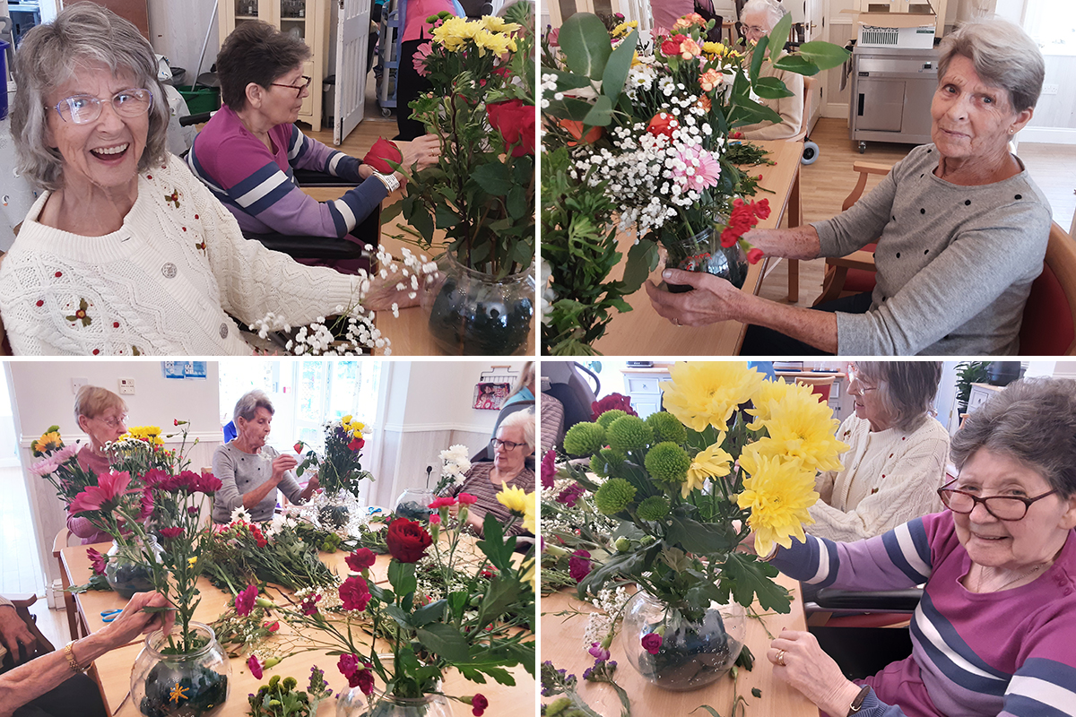 In full bloom at Woodstock Residential Care Home