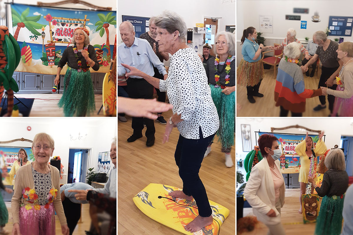 Copacabana party at Woodstock Residential Care Home