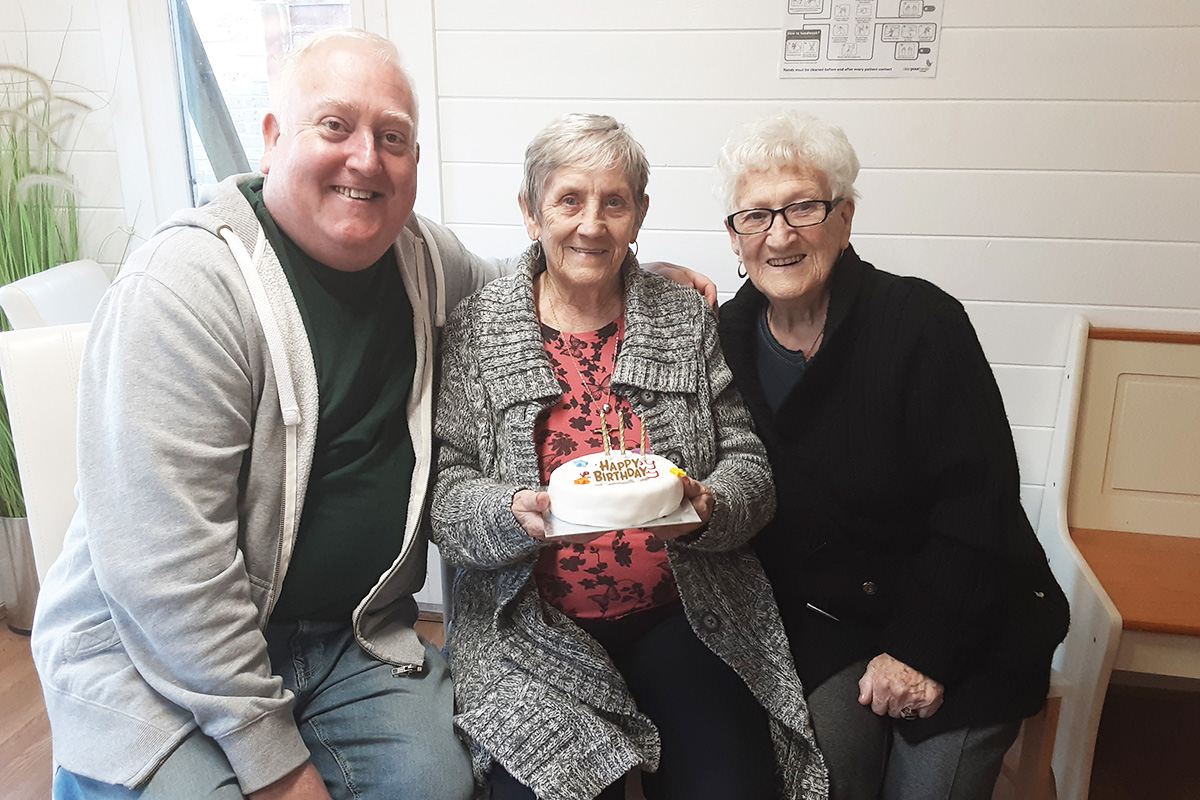 Gracie turns 80 at Woodstock Residential Care Home