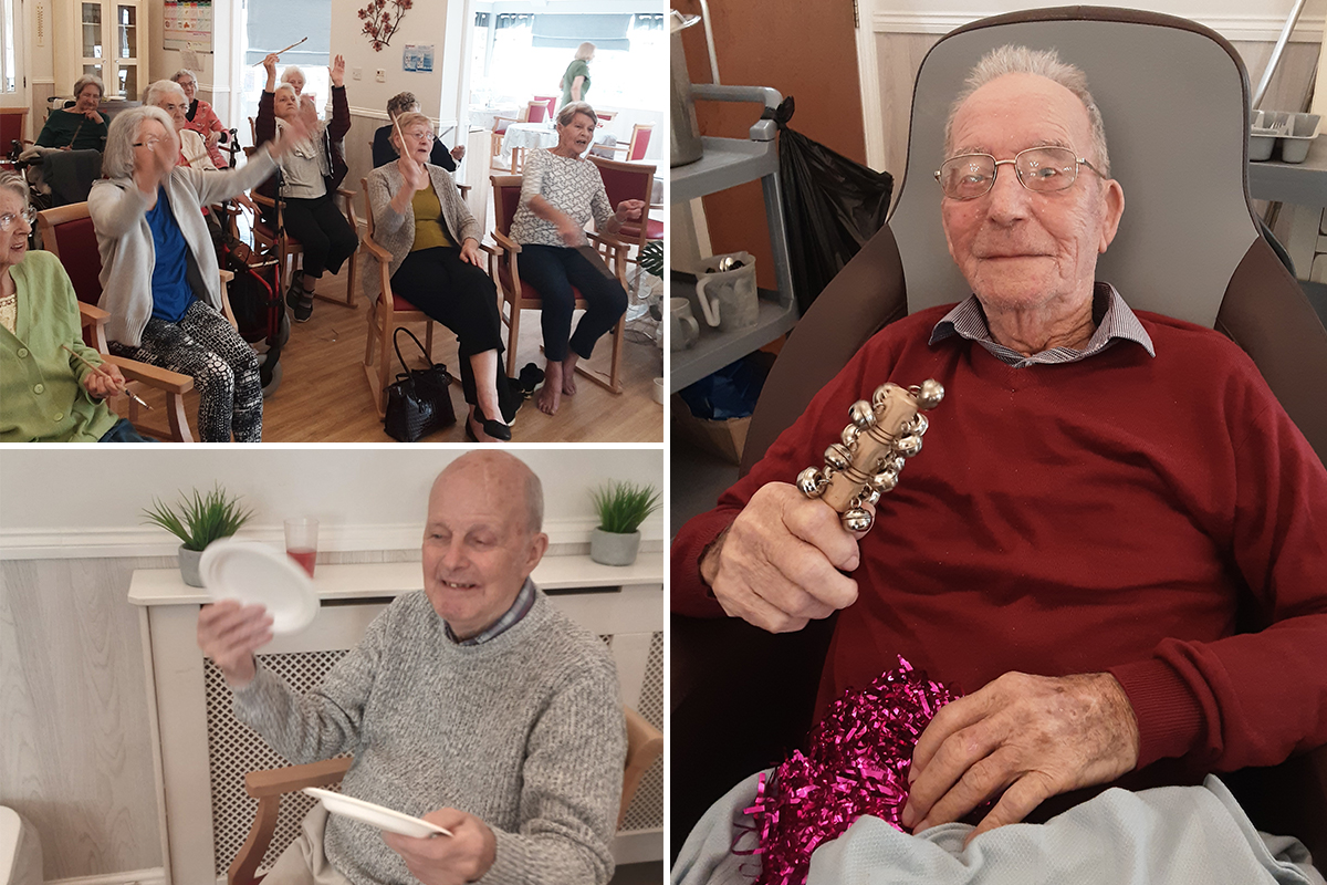 Music with John and Mo at Woodstock Residential Care Home